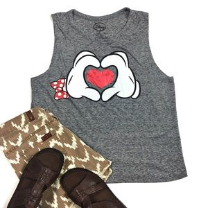 Disney Large Mickey Mouse Crop Top